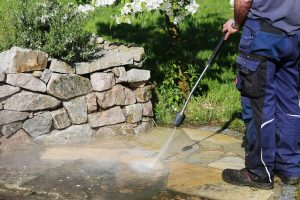 best way to clean patio pavers