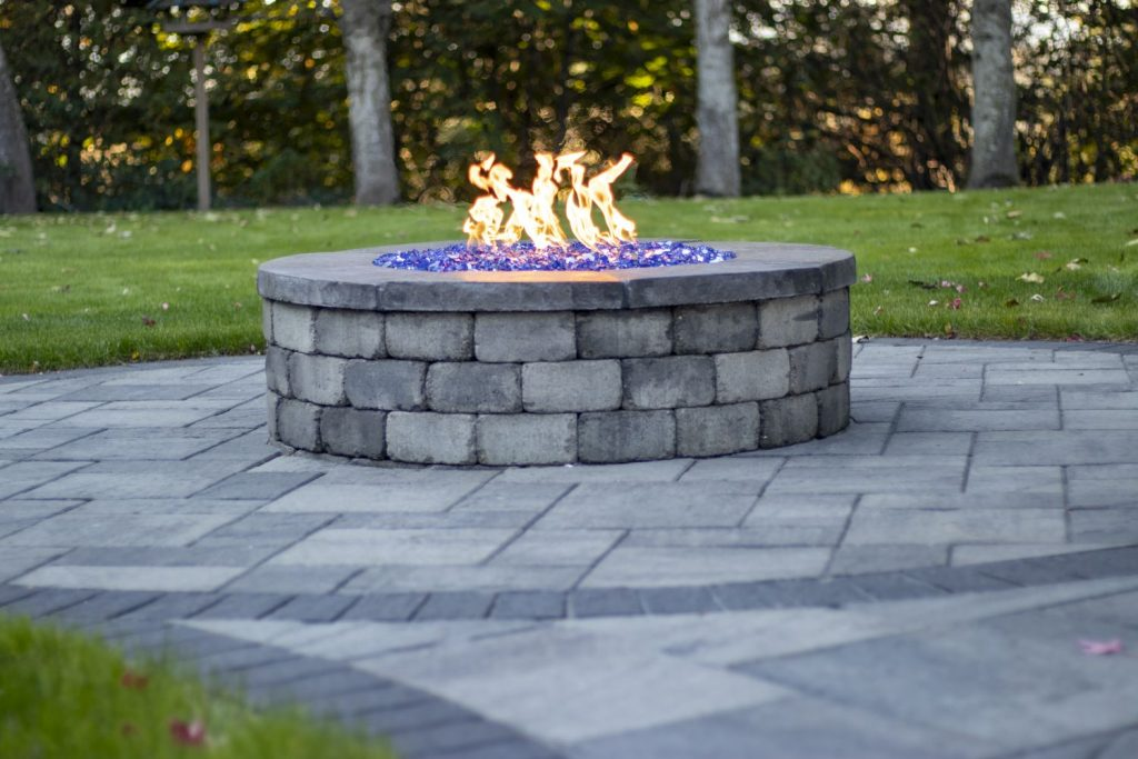 patio or fire pit