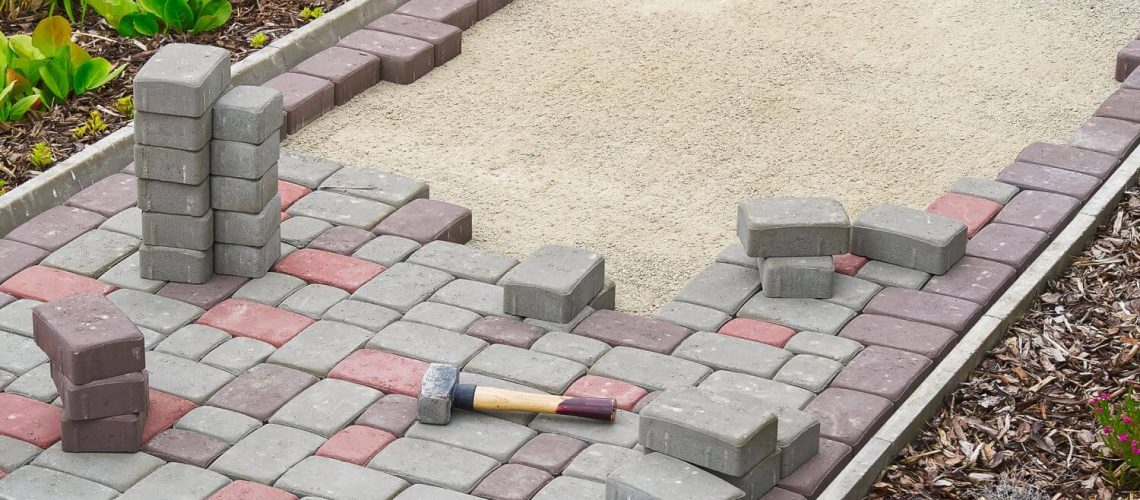 Paver Walkway Installation concrete pavers outdoor home